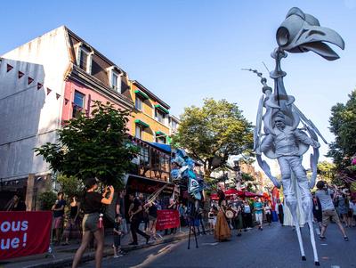rue St-Denis, festival